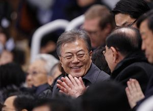 Moon's PyeongChang Propaganda Coup
