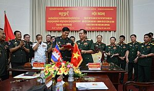 Deputy Defense Minister Visit Highlights Vietnam-Cambodia Security Ties