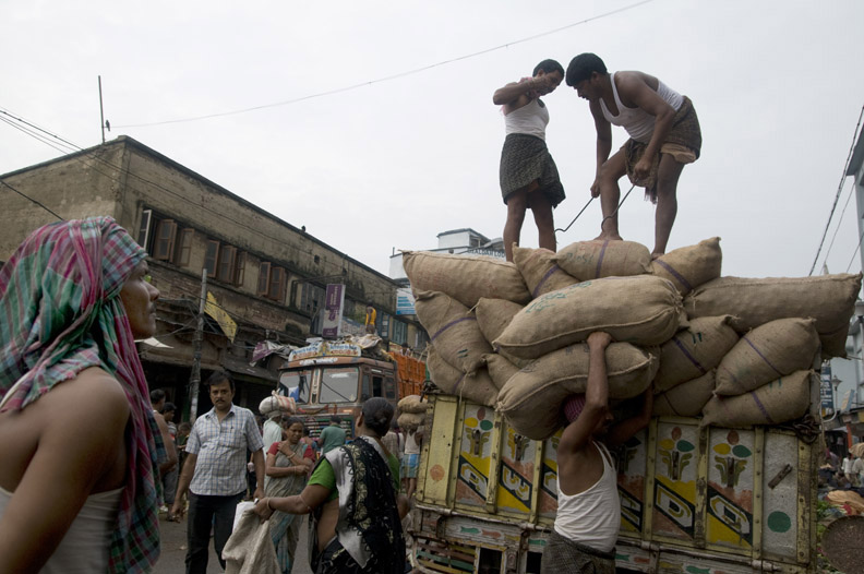 The Human Forklifts of Kolkata