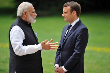 Macron to Set Tone for an EU Balancing Act Between India and China on Belt and Road