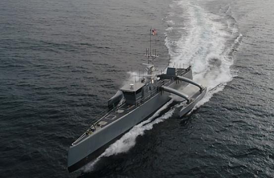 World's Largest Anti-Submarine Robot Ship Joins US Navy ...