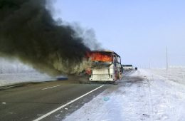 Kazakhstan Makes Arrests After Deadly Bus Fire Killed 52 Uzbek Labor Migrants