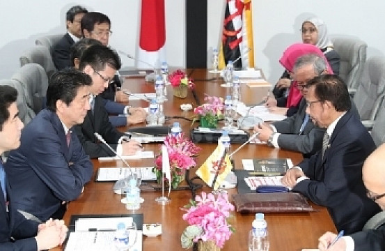 brunei singapore relationship with japan
