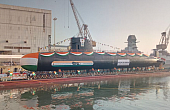 India Launches 3rd <i>Kalvari</i> -Class Attack Submarine