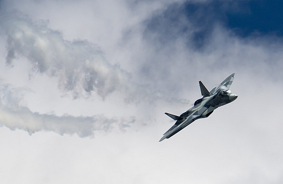 Russia to Offer China Su-57 Fifth-Generation Stealth Fighter