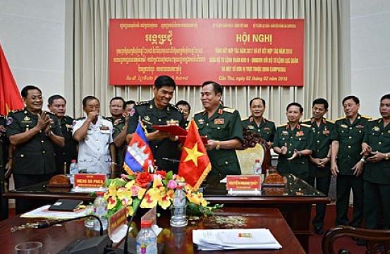 Joint Patrols Highlight Vietnam-Cambodia Maritime Ties