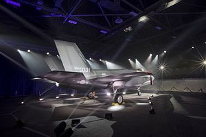 US, South Korea Roll Out 1st ROKAF F-35A Stealth Fighter