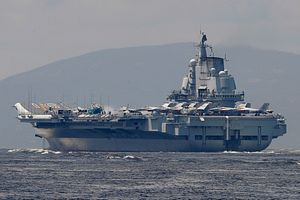 China Sends Aircraft Carrier Through Taiwan Strait