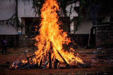 The Bonfire of Modern Demons: On Original Ways of Celebrating India's Holi