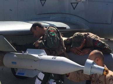 Afghan Air Force Drops Laser-Guided Bomb for 1st Time in Combat