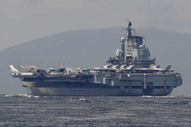 China Sends Aircraft Carrier Through Taiwan Strait
