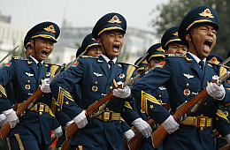 China's Military Backs Proposed Constitutional Amendments