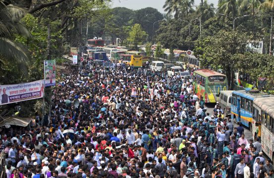 turbulent politics set to return to bangladesh