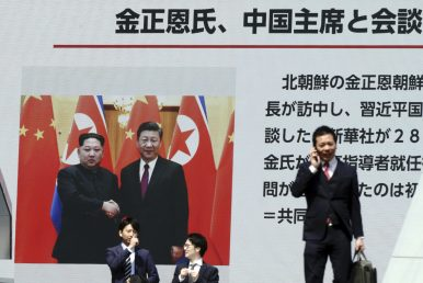 China, North Korea Extol 'Traditional Friendship' After Kim Jong-un's Beijing Visit