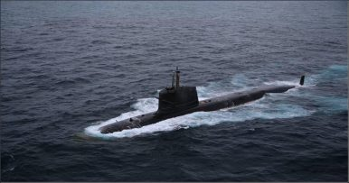 India's Latest 2 Kalvari-Class Attack Subs Undergoing Sea Trials