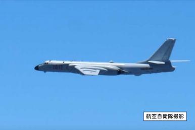 China Flies Long-Range Bombers, Fighter Jets Through Miyako Strait