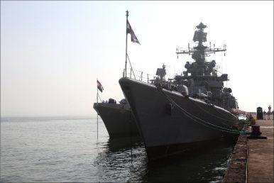 India, France Hold Joint Anti-Submarine Warfare and Air Defense Drill