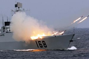 Chinese Navy to Hold Live-Fire Exercise in Taiwan Strait
