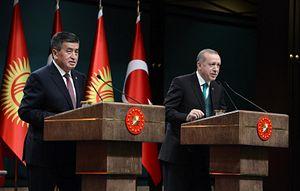 Turkish President Erdogan Urges Kyrgyzstan to Join Fight Against Gulen