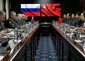 China, Russia 'Show Americans' Their Close Relationship