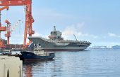 China Readies 1st Domestically Built Aircraft Carrier for Sea Trials