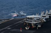 US Carrier Conducts Air Wing Sortie Drills in South China Sea