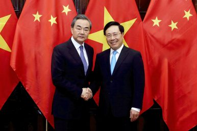Ahead of Drills in South China Sea, Chinese Foreign Minister Visits Vietnam