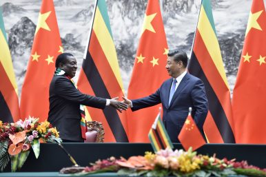China Renews 'All Weather Friendship' With Zimbabwe's New President