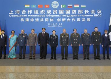 India, Pakistan Defense Ministers Take Part in SCO Meeting