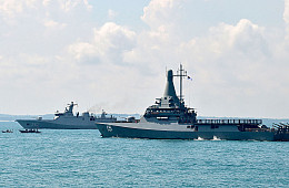 A First: Indonesia-Singapore Naval Exercise Features Maritime Counterterrorism Component