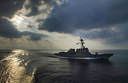 South China Sea: US Destroyer Conducts Freedom of Navigation Operation Near Scarborough Shoal