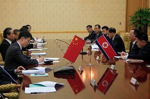 China Vows to Play a 'Constructive Role' in Resolving the Korean Peninsula Issue