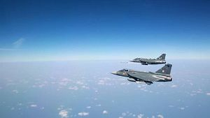 India's Light Combat Aircraft Fires Beyond Visual Range Missile