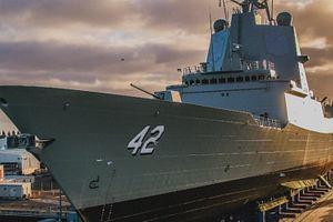 Australia Launches 3rd Air Warfare Destroyer