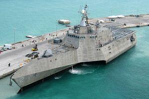 US Navy Christens New Littoral Combat Ship
