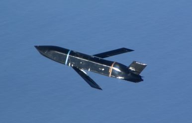 2 Long-Range Anti-Ship Missiles Test Fired From B-1B Successfully Hit Moving Ship