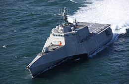 US Navy Accepts New Littoral Combat Ship