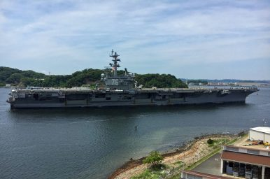 USS Ronald Reagan Enters Sea Trials Off Japan Following Maintenance