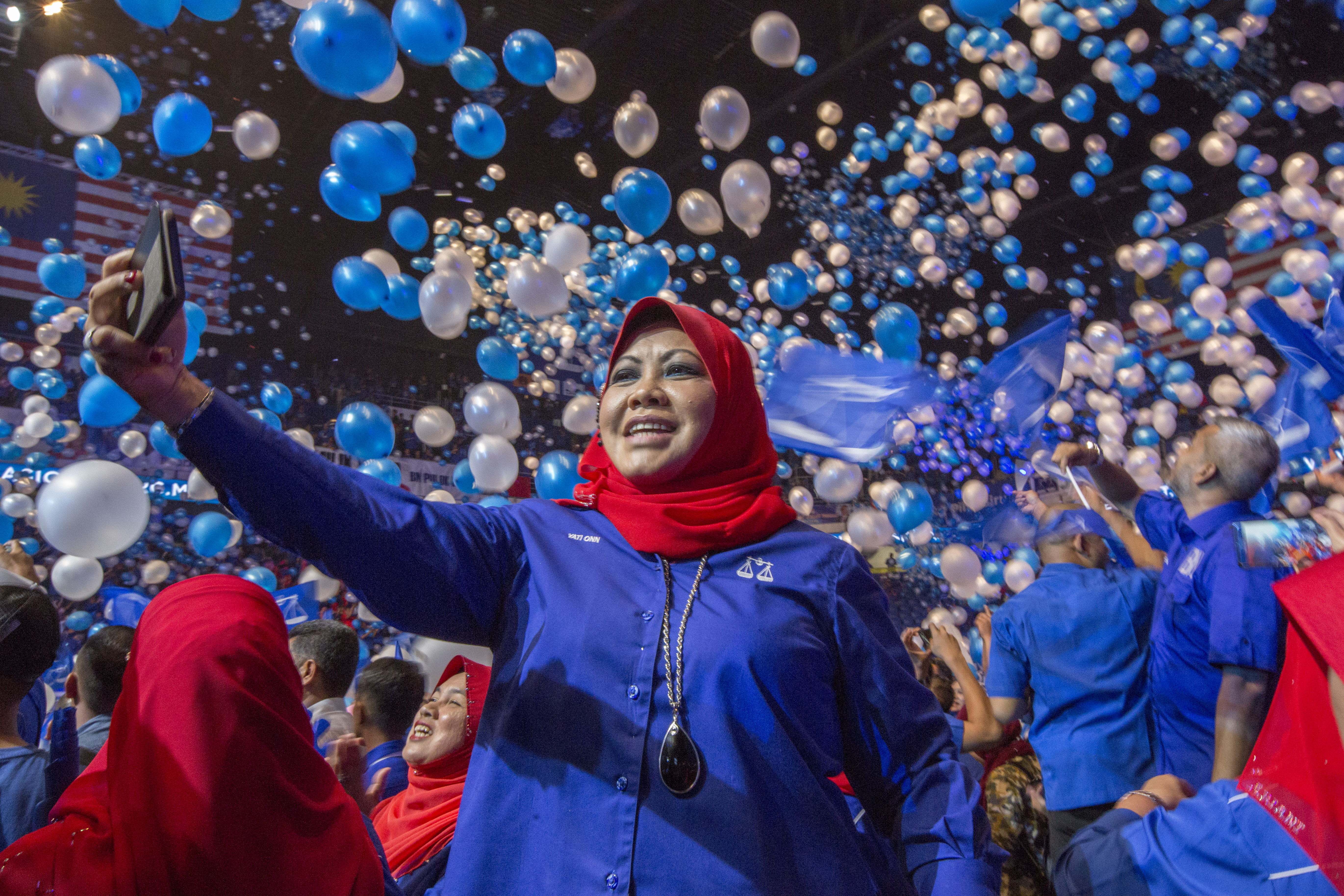 Malaysia's Fierce Campaigning in Action