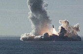 Russia's  <i>Borei</i>-Class Test Fires 4 Submarine-Launched Ballistic Missiles