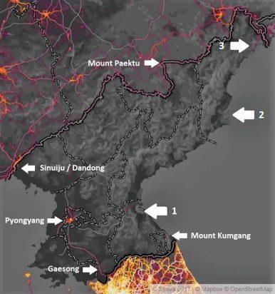 North Korea: A Strava Perspective
