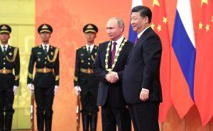 Putin on the Ritz in China