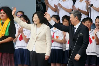 The Tsai Administration, Local Elections and China-Taiwan Relations
