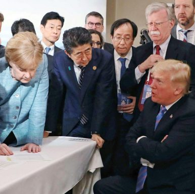 What the G7 Fiasco Means for Japan