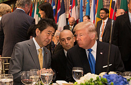Is Abe Cornered by Trump's Expanding Trade Tariffs?