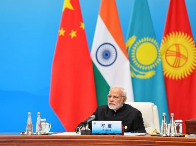 India Makes Waves, Courts Central Asia at the SCO Summit