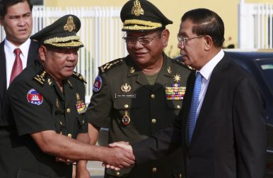 Sanctions Implicate Hun Sen's Bodyguard Chief in Grenade Attack