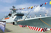 China's Navy Commissions 41st Type 056/056A Stealth Warship