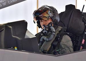 South Korea F-35A Pilot Flies First Solo Mission