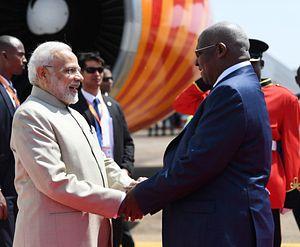 Modi's African Outreach Picks Up in Rwanda, Uganda, and South Africa